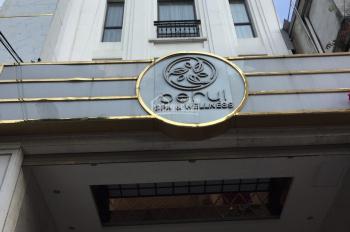 Cho thuê nhà hẻm 322 An Dương Vương 5.5m x 23m, trệt, 2 lầu, sân thượng