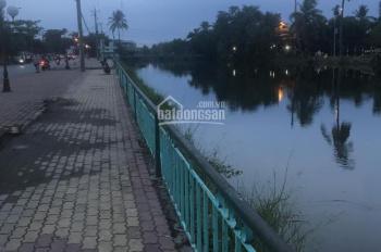 Bán đất đường Hưng Định 1 mặt tiền view sông, đối diện Cầu Ngang. DT 10x38m, giá 14 triệu/m2
