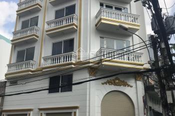 Góc 2 MTKD Nguyễn Ngọc Nhựt, DT: 5,2x16m, nở hậu 5,8m, trệt 4 lầu mới. Thiết kế hiện đại