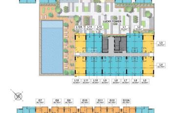 Bán gấp căn officetel dự án Richmond, 52m2, căn góc, tầng trung giá 1,88 tỷ, căn 38m2 giá 1.45 tỷ
