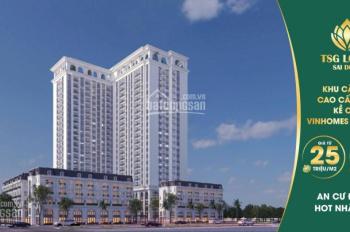 Bán sàn thương mại - văn phòng 2100m2 TSG Lotus Sài Đồng, đối diện Vinmec Vinhomes Riverside