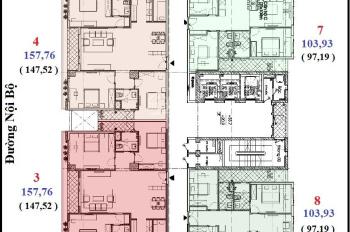 Chính chủ cần nhượng lại căn hộ full nội thất C3 Lê Văn Lương, 97.17m2. LH: 0987562417