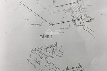 Bán nhà 101/33A Nguyễn Văn Đậu, P5, Bình Thạnh. 9x27m, DTCN: 255m2, 1 trệt 1 lầu, giá: 13,5 tỷ