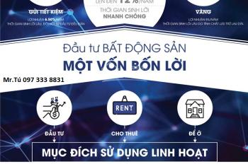 Chính chủ bán căn góc 2 PN, Aqua Park Bắc Giang cho nhà đầu tư - rẻ hơn 200 triệu so với giá CĐT