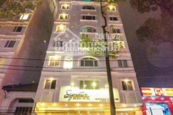 Siêu khách sạn 3 sao MT Trương Định, Q1. DT: 12x20m, 2 hầm 9 lầu, HĐ thuê 800tr/th, giá 188 tỷ