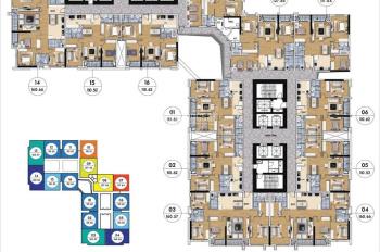 Chính chủ bán Goldmark City Ruby 2, 3 căn 1517 (83,46m2); 1816 (83,46m2) giá 2,05tỷ, LH: 0936076186