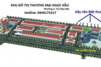Nền biệt thự đẹp tại trung tâm TP Châu Đốc - LH: 0949175317