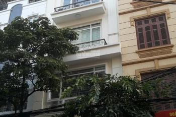 Cho thuê nhà ngõ 88 Trung Kính, 90m2 x 6 tầng, MT 5m, đường 7m, giá 40tr, thang máy