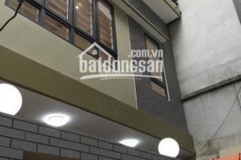 Bán nhà 5 tầng, mặt ngõ Trại Cá, Quận Hai Bà Trưng, Hà Nội, nhà cách phố Trần Đại Nghĩa 120m