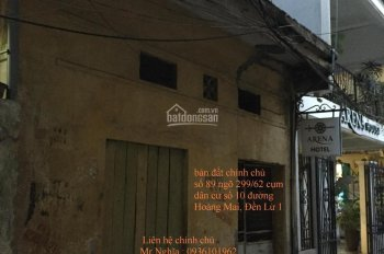 Cho thuê nhà riêng khu Hoàng Mai