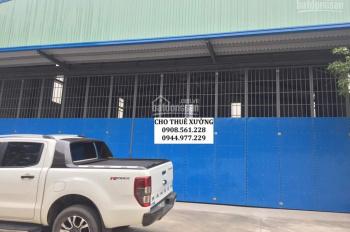 Cho thuê nhà xưởng DT: 400m2 giá 15 tr/tháng, ngay đường Lê Văn Khương - quận 12. LH: 0944.977.229