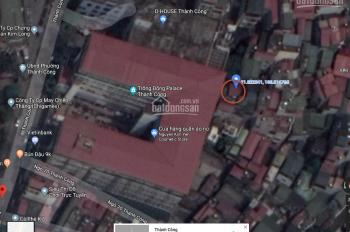 Chính chủ cần bán nhà riêng ngõ 20 Thành Công, Ba Đình, Hà Nội, DT 60m2, giá 70tr/m2