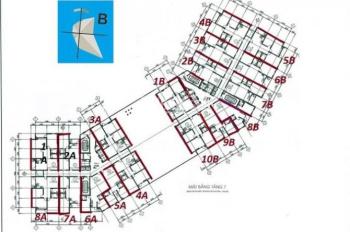 Chính chủ bán căn hộ 94m2, 3PN chung cư CT1 Thạch Bàn, giá 16,5 triệu/m2. LH: 0904999135