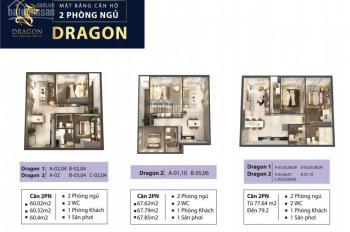 Chính chủ Topaz Elite, block Dragon, 60m2, kí HĐMB trực tiếp LH SĐT 0389746052 (Ms. My)