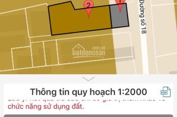 Bán nhà cấp 4 đường 18, Hiệp Bình Chánh, Thủ Đức, 189m2, giá 14 tỷ 500 triệu