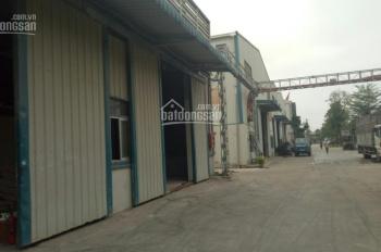 Cho thuê 5000m2 nhà xưởng thuộc khu công nghiệp Thạch Thất Quốc Oai