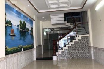 Bán gấp nhà mặt tiền Trịnh Đình Trọng, Tân Phú, DT: 4m x 16m, trệt, lửng, lầu, ST, giá: 8 tỷ TL