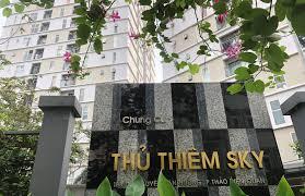 Cho thuê căn hộ Thủ Thiêm Sky, P. Thảo Điền, Quận 2, 2PN, giá chỉ 9 triệu/tháng