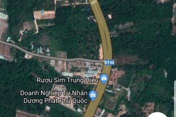 Chính chủ Cần bán 4000m2 đất đẹp 3 mặt tiền và 4 nền liền kề tại Suối Lớn, Xã Dương Tơ Phú Quốc