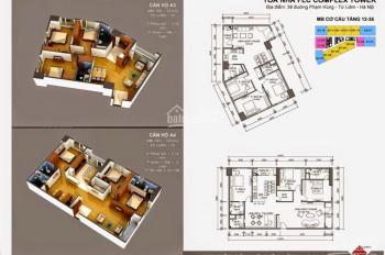 Chính chủ bán cắt lỗ căn số 10 tòa FLC 36 Phạm Hùng, căn góc 3pn full nội thất