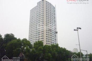 Bán CC Ngọc Khánh Plaza - Số 1 Phạm Huy Thông bên Hồ Ngọc Khánh, 161, 3 PN, 2 VS, giá 28,5 tr/m2