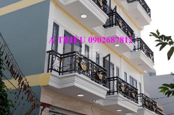 Nhà sổ hồng riêng, 1 trệt, 2 lầu, sân thượng, 52m2, giá 3 tỷ, NH hỗ trợ 70%