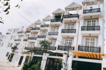 Nhà 1 trệt 3 lầu đường số 10, HXH có SHR cạnh siêu thị Coop Mart Bình Triệu. LH 0989562317