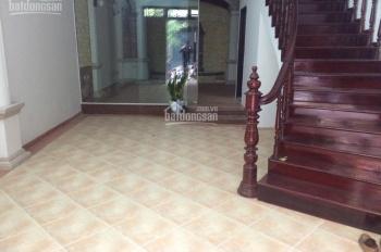 Cho thuê nhà 4 tầng trong ngõ 189 Nguyễn Ngọc Vũ, rộng 60m2 x 5 tầng, giá 18 tr/th, ngõ ô tô rộng