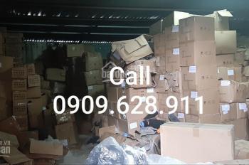 Thuê kho 100m2 Quận 4 đường Bến Vân Đồn, có bảo vệ an ninh, LH 0909628911