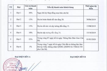 Cần bán căn hộ cao cấp 3 PN, giá hơn 2 tỷ, 11 tháng nữa nhận nhà tại Sài Đồng, Long Biên