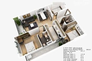 Cần bán chung cư Sài Đồng, tòa mới 2 tỷ/căn 3 PN 91m2, thanh toán 7 đợt, 11 tháng nữa nhận nhà