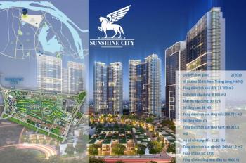 Bán căn hộ chung cư Sunshine City nằm trong quần thể khu đô thị Ciputra, gần đường Phạm Văn Đồng