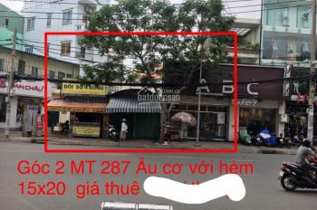 Chính chủ cho thuê nhà góc 2 MT 289 Âu Cơ, gần vòng xoay Lạc Long Quân, Tân Phú, 0961508033 Toàn