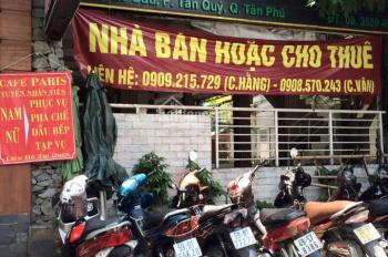 Bán nhà MTKD Gò Dầu gần Tân Sơn Nhì, DT: 4x16m, cấp 4, giá 12,3 tỷ, LH: 0938567787
