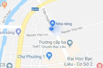 Cần bán 2 căn nhà đường Trần Huỳnh, P. 1, kế cafe Net Việt