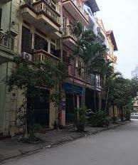 Cho thuê nhà 45m2 x 5 tầng, mặt phố Trung Yên 6, đường ô tô tránh nhau. Giá 25 triệu/th