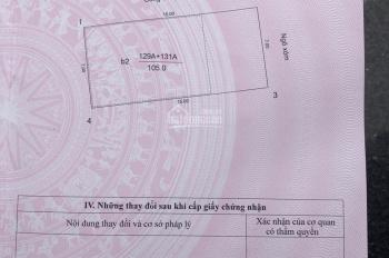 Bán nhà phố Tây Hồ, Hà Nội. Diện tích 105m2, mặt tiền 7m, giá 165tr/m2, 0973452986