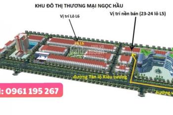Bán đất nền khu đô thị Sao Mai Ngọc Hầu, Châu Đốc giá rẻ đường Tân Lộ Kiều Lương, LH 0961 195 267