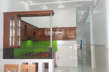Bán nhà mới 1 trệt, hẻm 1 Nguyễn Văn Quá, cách ngã 4 chợ Cầu 100m, giá 3,650 tỷ