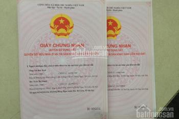 Bán nhà cấp 4 gác xép sổ đỏ CC ngõ 4 Quang Trung, Hà Đông gía 1,5 tỷ. ĐT 0913362532