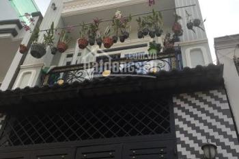 Bán nhà hẻm 25 Lê Thúc Hoạch, đối diện trường THCS Trần Phú. 4m x 12,5m, 2 lầu + ST, mới đẹp