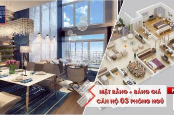Giá và chính sách tốt tháng 6/2019 cho căn hộ 3 phòng ngủ dự án Vinhomes West Point - 0946928689