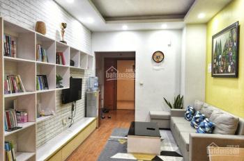 Bán căn hộ 83.6m2 có nội thất, tòa GH5 CT17 KĐT Việt Hưng, ban công Đông Nam