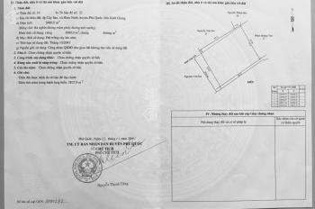 Cần tiền bán lô đất dọc biển Phú Quốc, 38 tỷ, SHR, 4216m2, có đường riêng, 0932064723