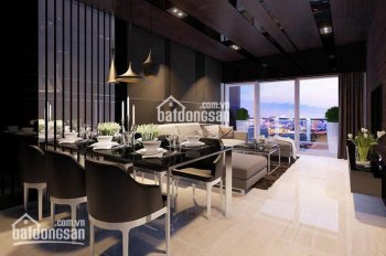Cho thuê căn hộ Vinhome 135m2 căn góc có ban công view đẹp nội thất Châu Âu, LH 0977771919
