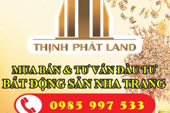 Chính chủ bán đất trung tâm thành phố Nha Trang chỉ từ 110 triệu/m2, LH Ms Hiền 0985.997.533