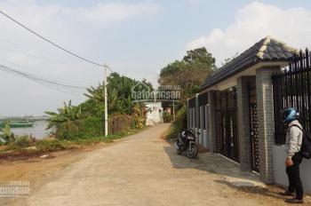 Đất biệt thự nghỉ dưỡng 2 mặt tiền view Sông Đồng Nai. DT 27x38m,200m2 thổ cư, giá chưa tới 10tr/m2