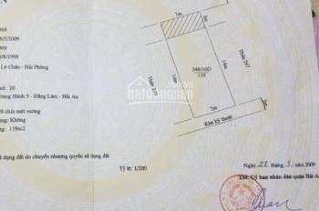 Cần bán gấp 4 lô đất biệt thự, hướng Đông Nam và Tây Bắc tại lô 16D Lê Hồng Phong