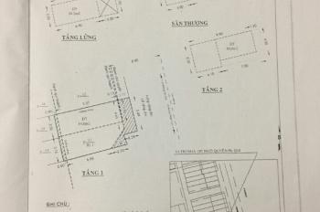 Bán nhà 2 mặt tiền đường Ngô Quyền, KT 7,2m x 10m,  quận 10. Liên hệ: Mai - 0907990079