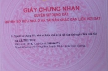 Chính chủ cần tiền bán gấp đất mặt tiền đường Lý Thái Tổ, TP. Bảo Lộc, 685m2. LH: 0907981409